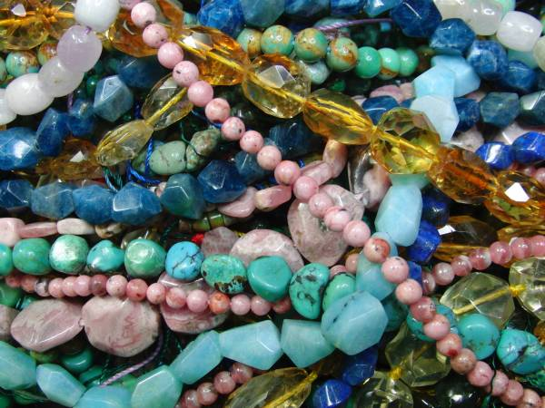 Semi-Precious Stone Beads for Jewelry