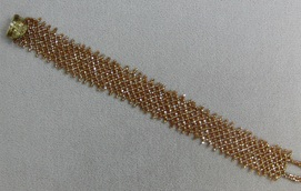 Flat Netting Class with Beads