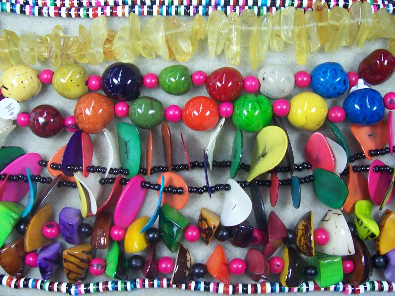Tagua Nut Beads for Funky Jewelry