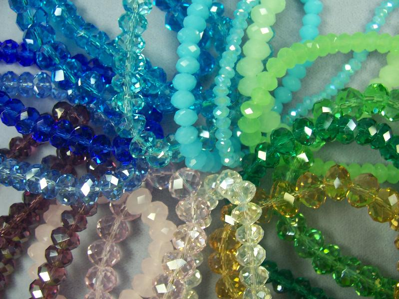 Chinese Crystal Beads for Bling Jewelry