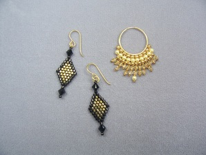 Brick Stitch Earrings Class