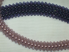 Flat Spiral with Swarovski Pearls and Crystals Class
