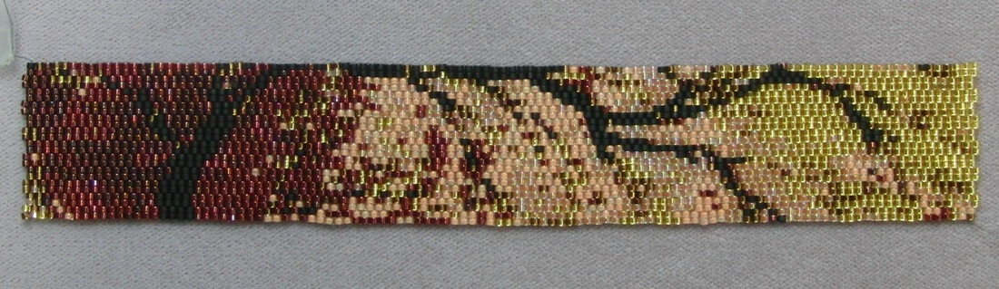 Two Drop Peyote Pattern Bracelet
