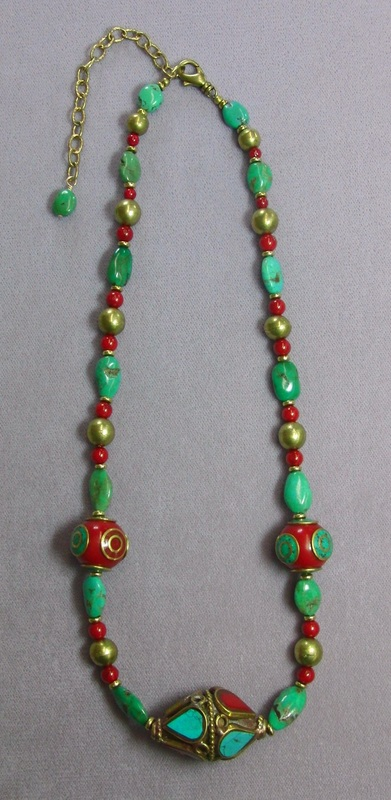 Tibetan Bead Necklace