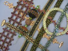 Right Angle Weave Bead Classes