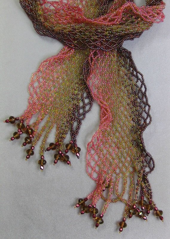 Netted Scarf Class