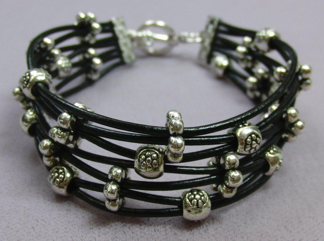 Leather Multi-Strand Bracelet
