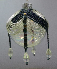 Beaded Ornament Class with Tila Beads