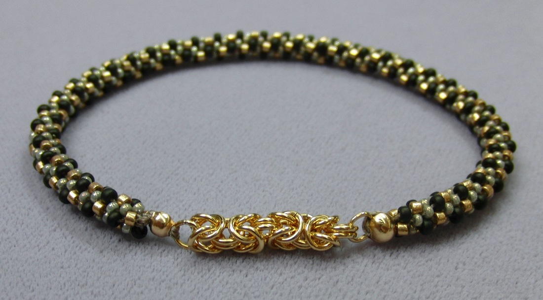 kumihimo with chain maille