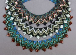 Peyote Collar June 2014 Bead & Button